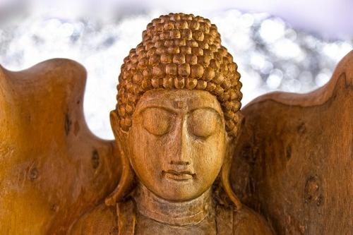 Houten Boeddha