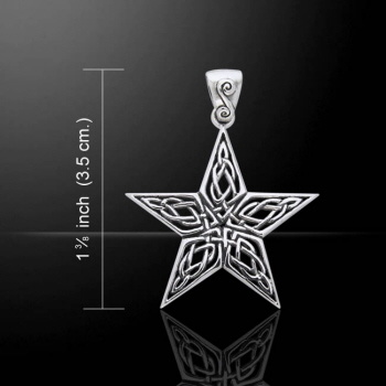 Hanger ster met Keltische symbolen