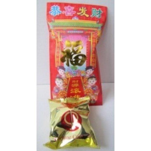 Gelukskoekje in Chinese gelukszakje 10 stuks