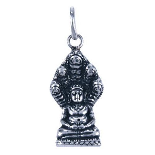 Boeddha hangertje van zilver