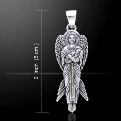 Angel Of New Hope hangertje van zilver