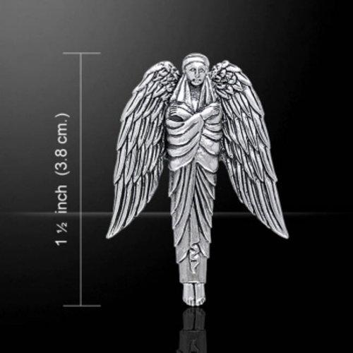 Engel van bescherming zilveren hanger