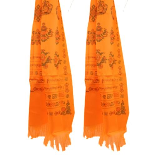Bhutanese katha oranje