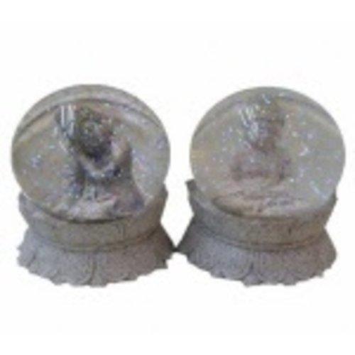 Boeddha in waterbol