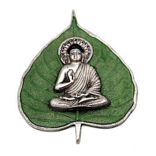 Boeddha op blad