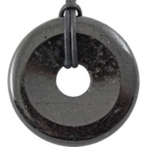 Donut zwarte Tourmalijn 4 cm