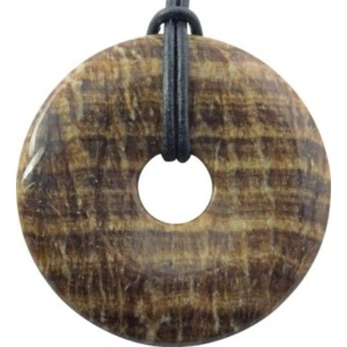 Donut Aragoniet bruin 4 cm