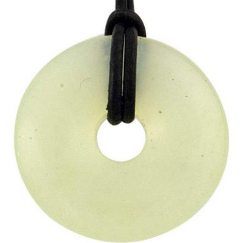 Donut Chinese jade 4 cm