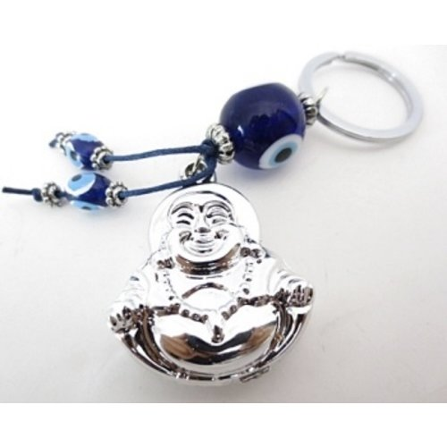 Boze oog sleutelhanger boeddha