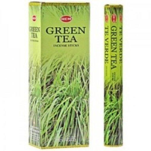 Groene thee wierook