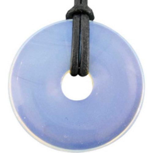 Donut Opaliet kwarts 4 cm