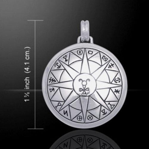 Bescherming bij reizen talisman zilver