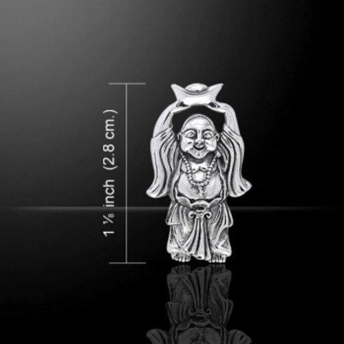 Boeddha met goudklomp zilver