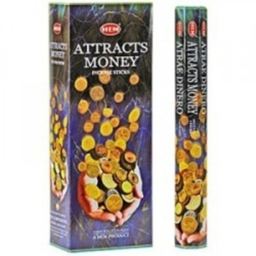 Attracks money wierook