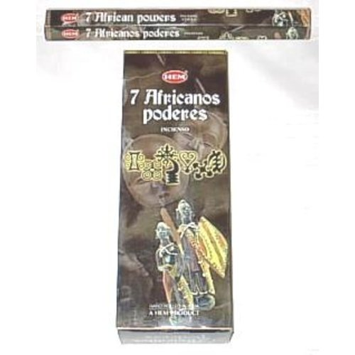 7 African power wierook