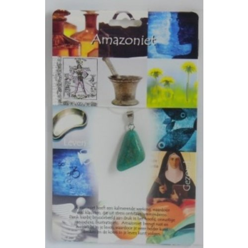 Amazoniet gezondheidssteen