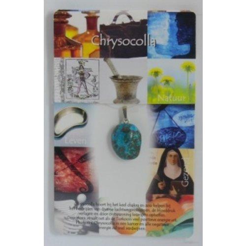 Chrysocolla gezondheidssteen