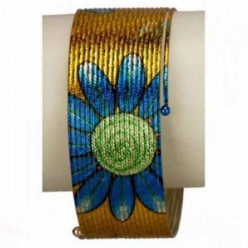 Armband spiraal bloemmotief
