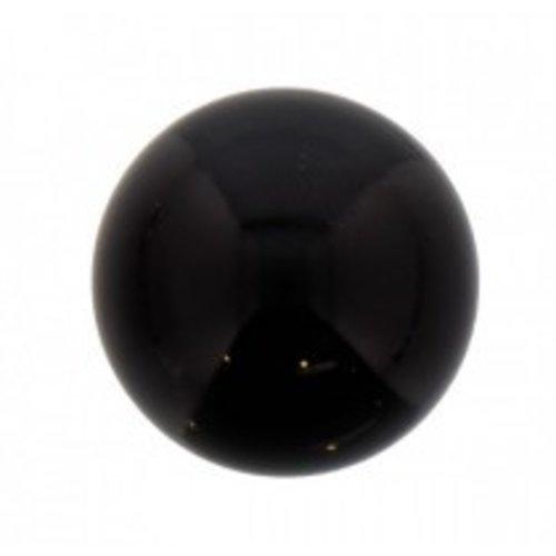 Engel klankbol zwart