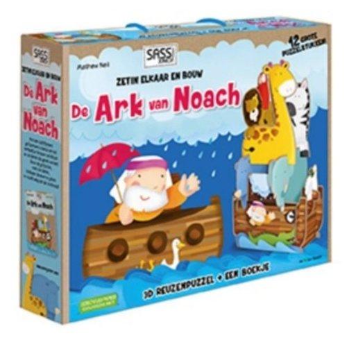 De Ark van Noach, 3D reuzenpuzzel + boekje