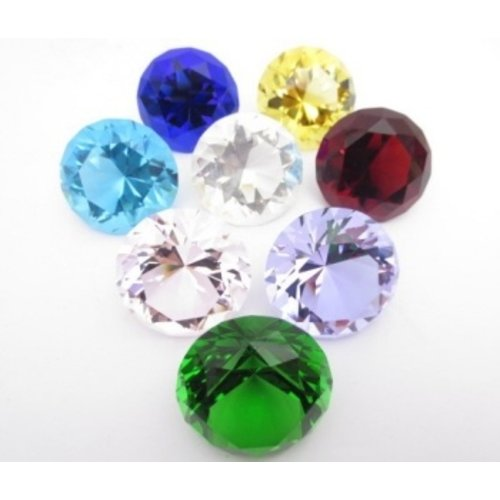 Diamant Set gekleurd 4 cm