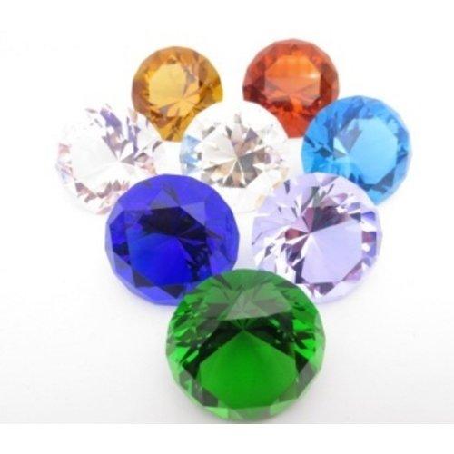 Diamant Set gekleurd 5 cm