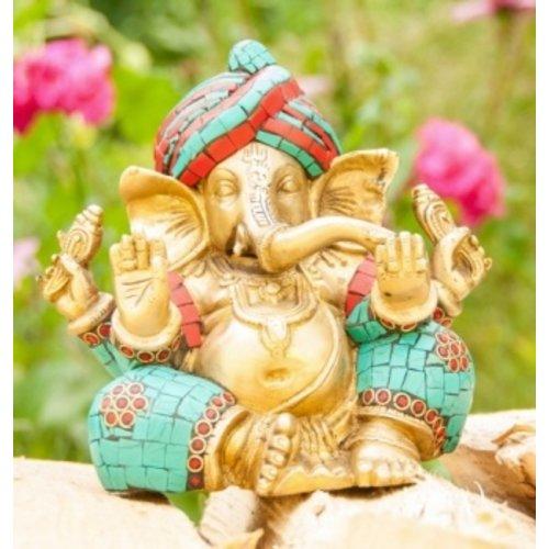 Ganesha messing 15 cm