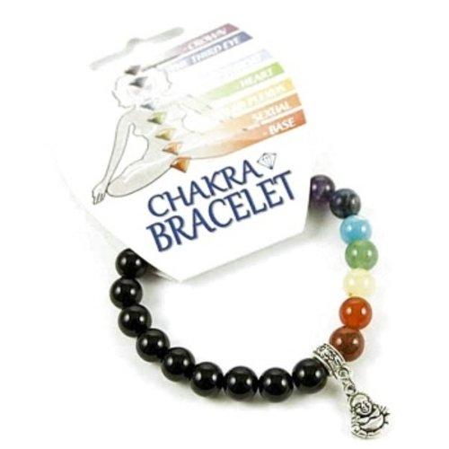 Chakra armband met een boeddha bedeltje
