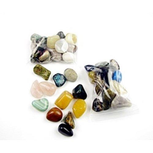 Getrommelde stenen 200 gram groot