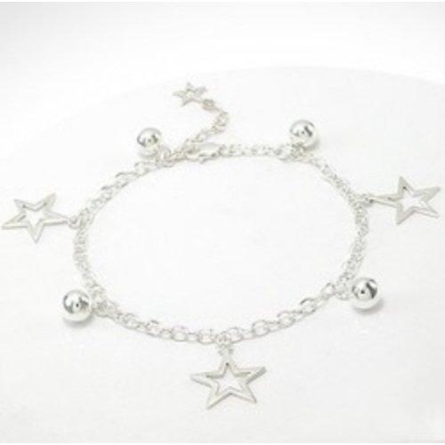 Armband zilver stars