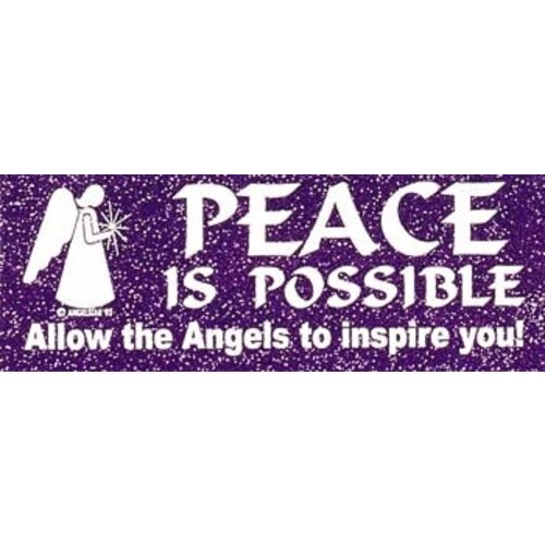 Bumper Sticker Peace
