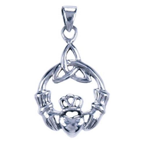 Claddagh hanger zilver