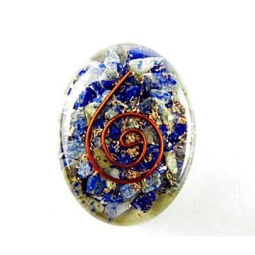 Cabochon orgone Lapis Lazuli