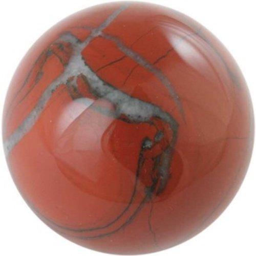 Edelsteen bol Rode Jaspis 2 cm