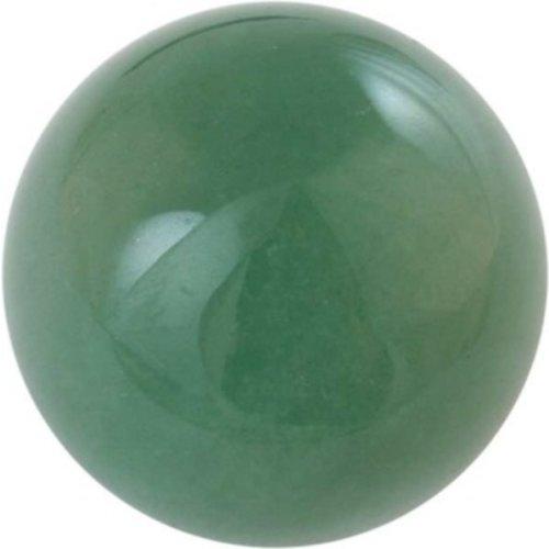 Edelsteen bol Aventurijn groen 2 cm