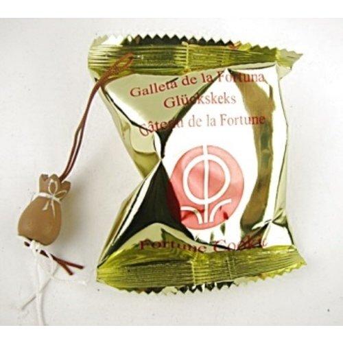 Gelukskoekje met met de zak van Sinterklaas 10 stuks