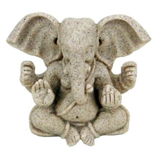 Ganesha beeldje 8 cm hoog
