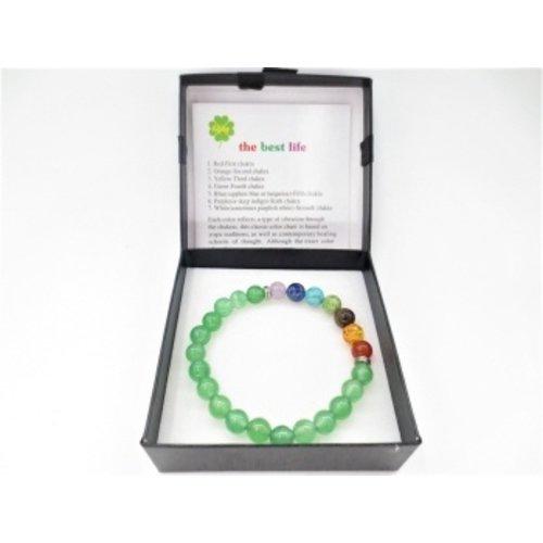Chakra armband Jade