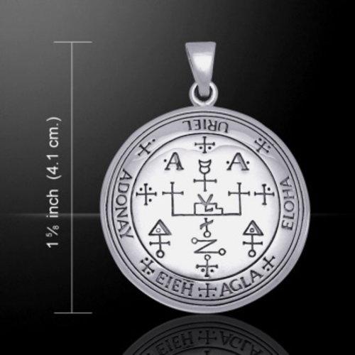 Aartsengel Uriël sigil zilver