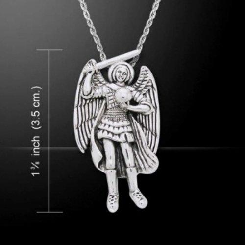 Engel hangertje Raguel van zilver