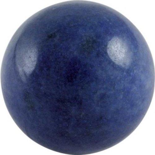 Edelsteen bol blauwe kwarts 4 cm
