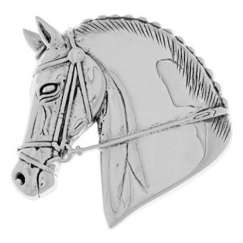 broche paard zilver