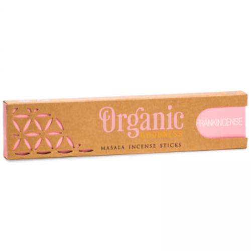 Biologische masala wierook frankincense