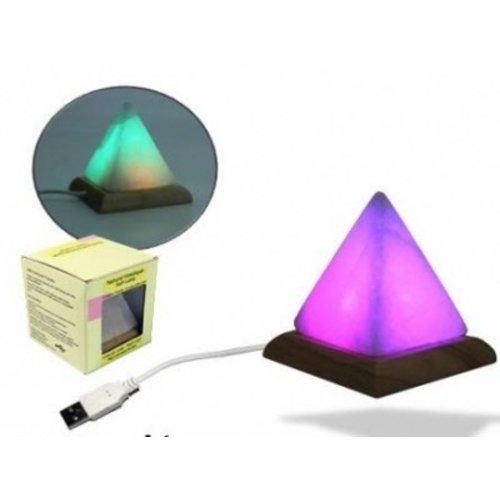 Computer zoutlamp piramide