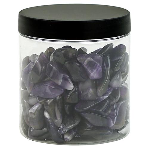 Amethist trommelstenen in potje 300 gram