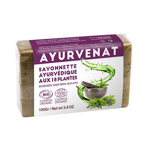 Ayurvedische 18 kruiden zeep bio