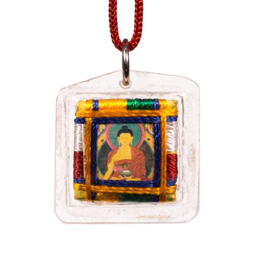 Beschermhanger shakyamuni boeddha