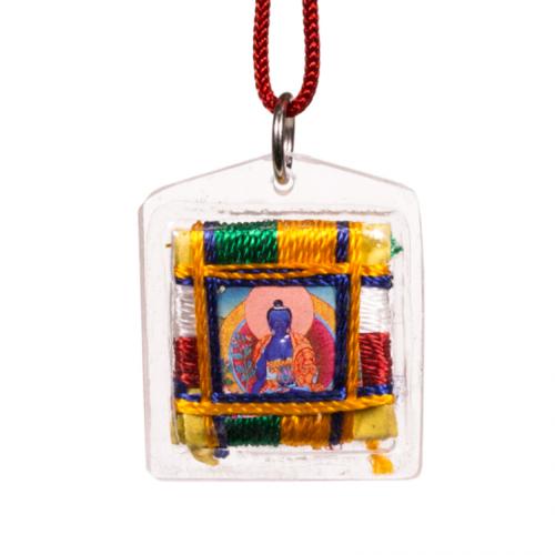 Beschermhanger medicijn boeddha