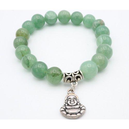 Aventurijn armband met een Boeddha