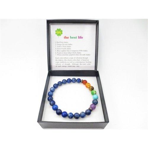 Chakra armband lapis lazuli
